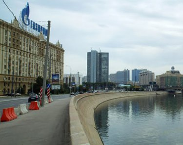 Реконструкция Краснопресненской Набережной в Москве