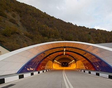 Строительство Рокского Тоннеля между Северной и Южной Осетией