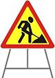 Переносные опоры для дорожных знаков