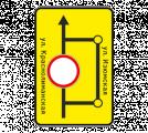 Информационный дорожный знак 6.17 Cxeмa oбъeздa