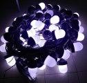 Гирлянда светодиодных фонарей ФС-12 «желудь» белая