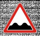 Дорожный знак 1.16 Неровная дорога