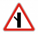 Дорожный знак 2.3.5 Примыкание второстепенной дороги