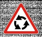 Дорожный знак 1.7 Пересечение с круговым движением