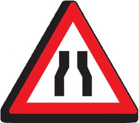 Дорожный знак - треугольник, сторона 900 мм, 2 типоразмер - Фото 1