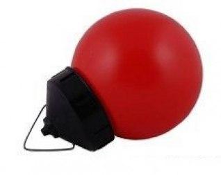 Фонарь сигнальный дорожный НСП, красный 220 Вольт, 40 Вт с лампой накаливания - Фото 1