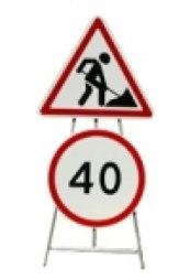 Универсальные и переносные опоры для дорожных знаков - Фото 1