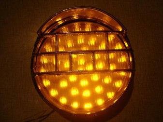 Фара светодиодная круглая - Фото 1