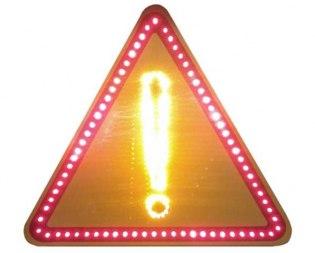 """Светодиодный дорожный знак 1.33 """"Прочие опасности"""", 2 типоразмер - Фото 1"""