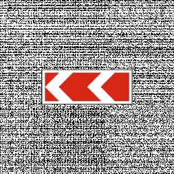 Знак направления поворота средний - Фото 1