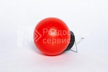 Фонарь сигнальный светодиодный ФС-12, НСП, круглый, красный - Фото 2