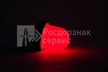 Фонарь сигнальный светодиодный ФС-12, НСП, «жёлудь», красный - Фото 2