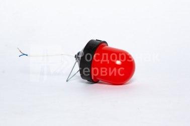 Фонарь сигнальный светодиодный ФС-12, НСП, «жёлудь», красный - Фото 3
