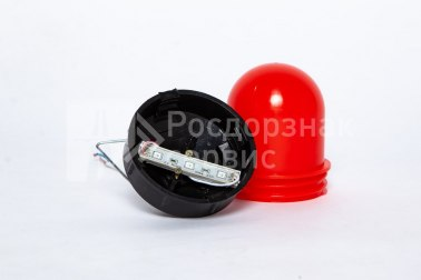Фонарь сигнальный светодиодный ФС-12, НСП, «жёлудь», красный - Фото 4