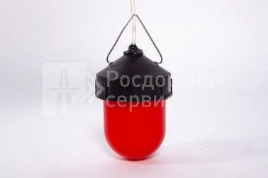 Фонарь сигнальный светодиодный ФС-12, НСП, «жёлудь», красный - Фото 5