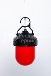 Фонарь сигнальный светодиодный ФС-12, НСП, «жёлудь», красный, с крючком - Фото 2