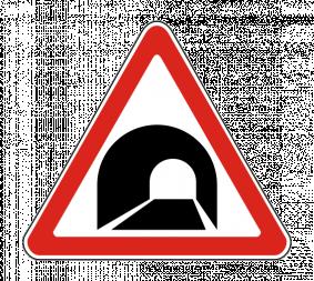 Дорожный знак 1.31 Тоннель - Фото 1