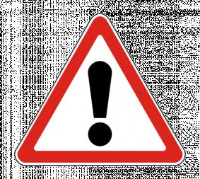 Дорожный знак 1.33 Прочие опасности - Фото 1
