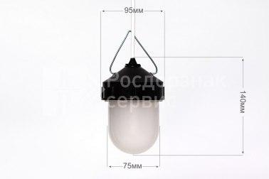 Фонарь сигнальный светодиодный ФС-12, НСП, «жёлудь», белый - Фото 1
