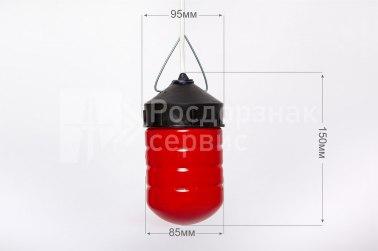 Фонарь сигнальный дорожный светодиодный ФС-12, НСП, цилиндр - Фото 1
