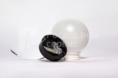 Фонарь сигнальный светодиодный ФС-12 НСП, круглый, белый - Фото 2