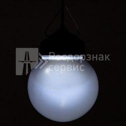 Фонарь сигнальный светодиодный ФС-12 НСП, круглый, белый - Фото 5