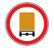 Дорожный знак 3.32 Движение транспортных средств с опасными грузами запрещено - Фото 1