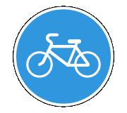 Дорожный знак 4.4.1 Велосипедная дорожка или полоса - Фото 1