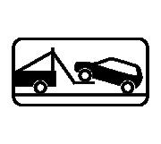 Дорожный знак 8.24 Работает эвакуатор - Фото 1