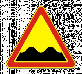 Временный дорожный знак 1.16 - Фото 1