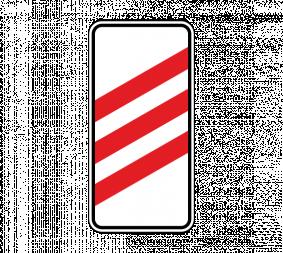 Дорожный знак 1.4.1 Приближение к железнодорожному переезду (правый, 3 полосы) - Фото 1