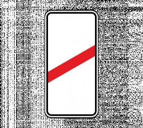 Дорожный знак 1.4.3 Приближение к железнодорожному переезду (правый, 1 полоса) - Фото 1