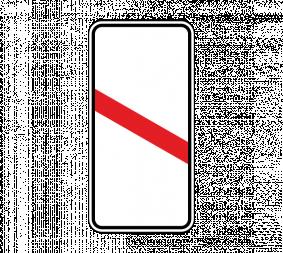 Дорожный знак 1.4.6 Приближение к железнодорожному переезду (левый, 1 полоса) - Фото 1