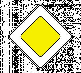 Дорожный знак 2.1 Главная дорога - Фото 1