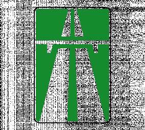 Дорожный знак 5.1 Автомагистраль - Фото 1