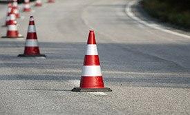 Дорожные конусы: характеристики и варианты применения