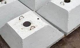 Установка и использование бетонных опор для дорожных знаков
