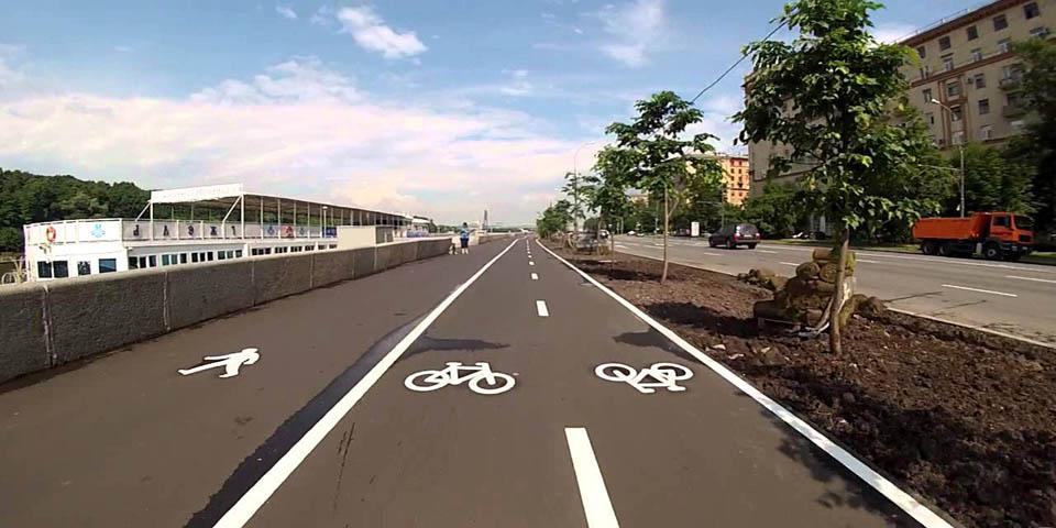 Двусторонняя велодорожка
