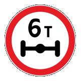 Знаки ограничения проезда транспорта по высоте и массе
